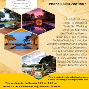 kathy-ireland-weddings-poolside-wedding-reception-in-honolulu